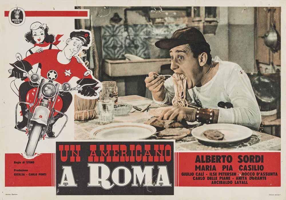 1954 - Un americano a Roma