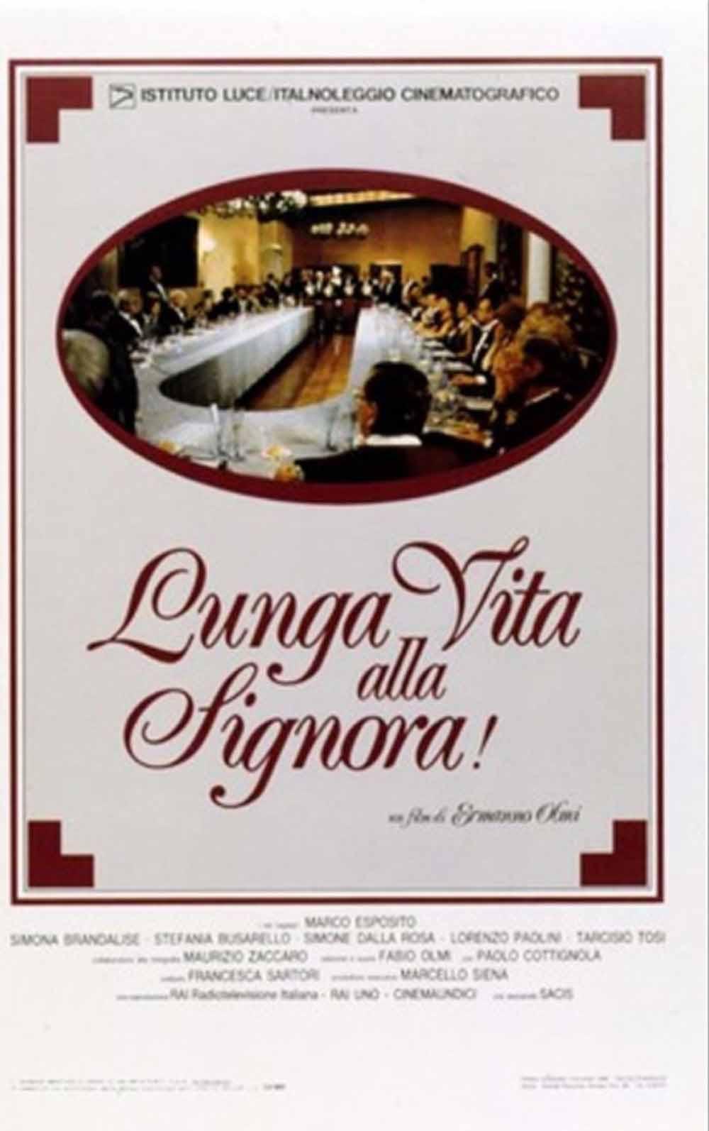 1987 - Lunga vita alla Signora!